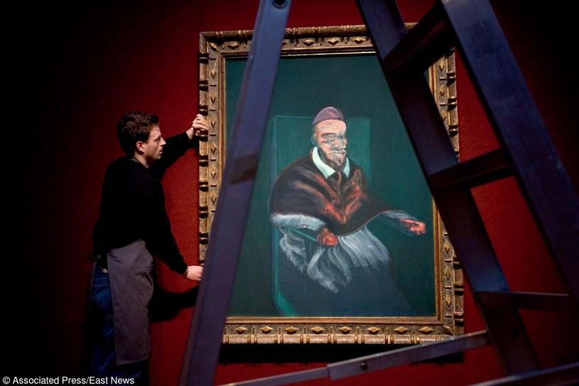 Jeden z obrazów Francisa Bacona /AP HDD 2 /East News