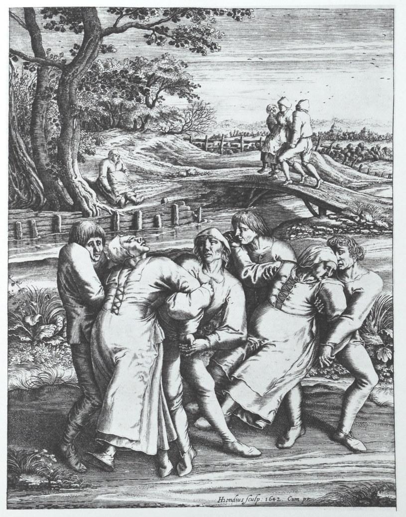 Jeden z obrazów z czasów tanecznej plagi /materiały prasowe