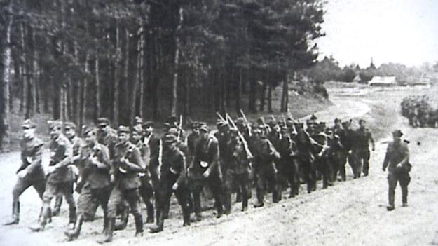 """Jeden z oddziałów """"Ojca Jana"""" przed bitwą pod Kuryłówką /IPN"""