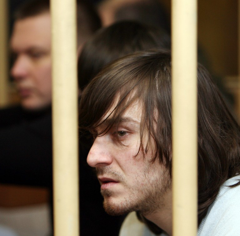 Jeden z oskarżonych o zabójstwo dziennikarki Anny Politkowskiej, Dżabrail Machmudow /AFP