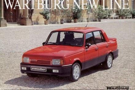 Jeden z ostatnich modeli wartburga /