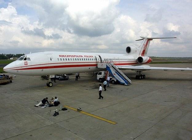 Jeden z polskich Tu-154 na lotnisku na Sri Lance /fot. Adam Mihejda /East News