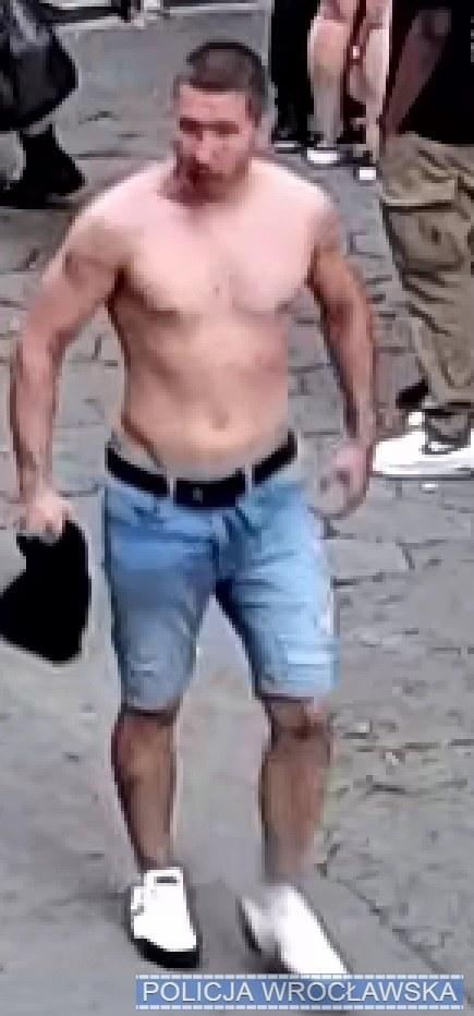 Jeden z poszukiwanych mężczyzn /Policja Dolnośląska /materiały prasowe