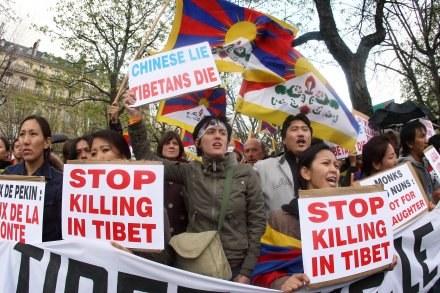 Jeden z protestów przeciwko łamaniu praw człowieka /AFP