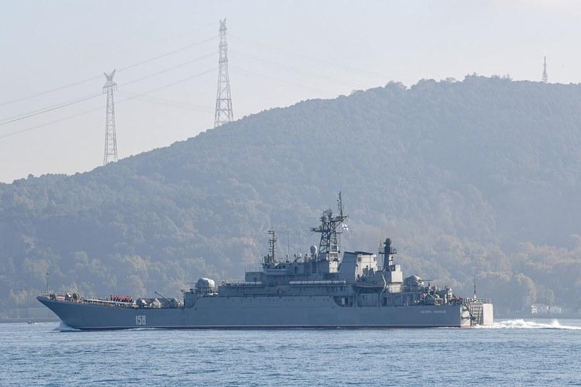 Jeden z rosyjskich okrętów wojennych na Bliskim Wschodzie. Zdjęcie ilustracyjne. /AFP