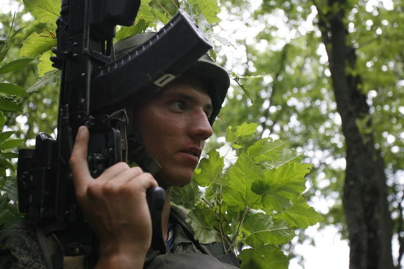 Jeden z rosyjskich żołnierzy /AFP