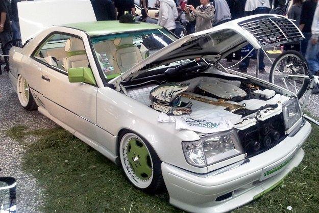 Jeden z samochodow prezentowanych na Tuning Show /INTERIA.PL