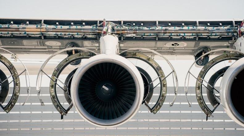 Jeden z sześciu silników Pratt & Whitney /Stratolaunch (Dylan Schwartz) /Internet