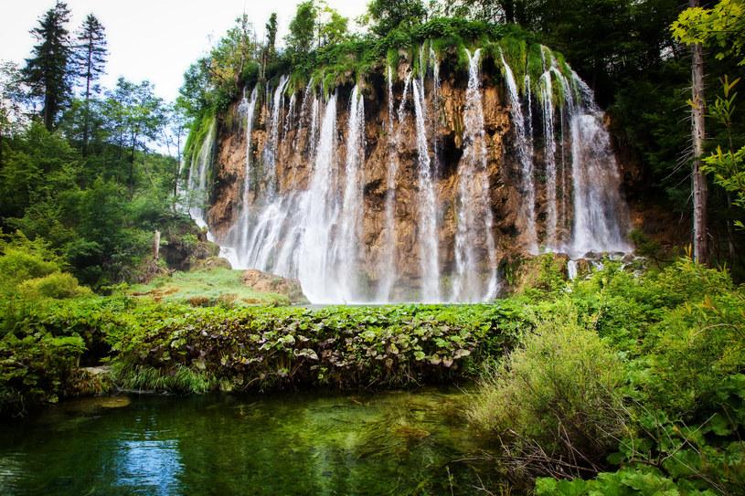 Jeden z wodospadów w chorwackim parku /123RF/PICSEL