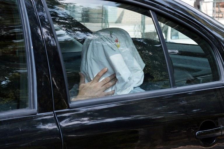 Jeden z wojskowych, którzy zbiegli do Grecji /AFP