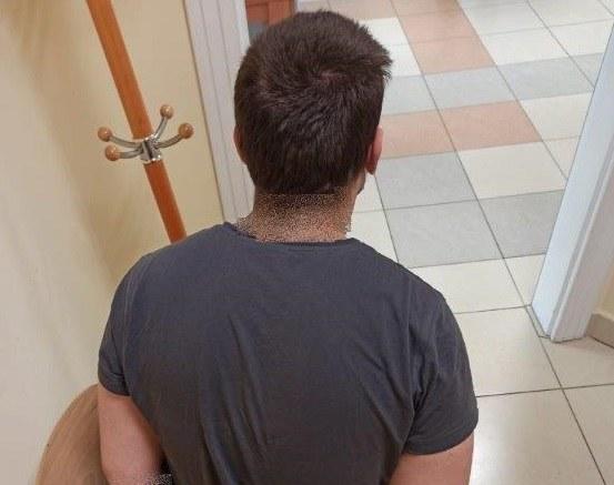 Jeden z zatrzymanych mężczyzn /malopolska.policja.gov.pl /