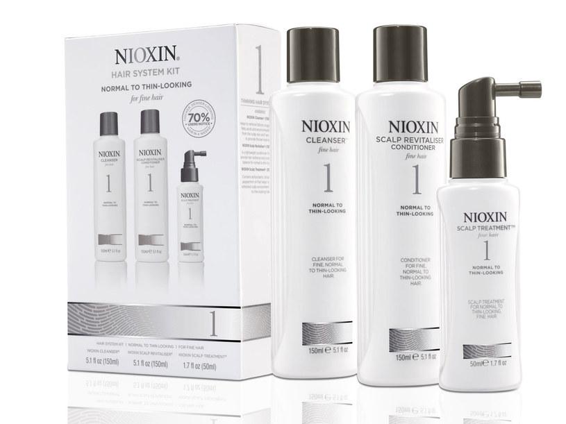 Jeden z zestawów pielęgnacyjnych Nioxin /materiały prasowe
