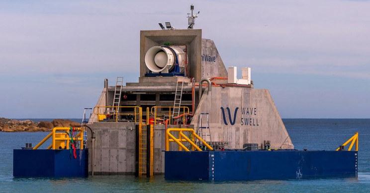 Jeden ze statków Wave Swell Energy /materiały prasowe