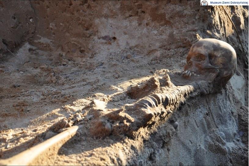 Jeden ze szkieletów odkrytych przez badaczy /facebook.com