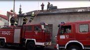 Jedna osoba zginęła w pożarze domu w Brzezinach