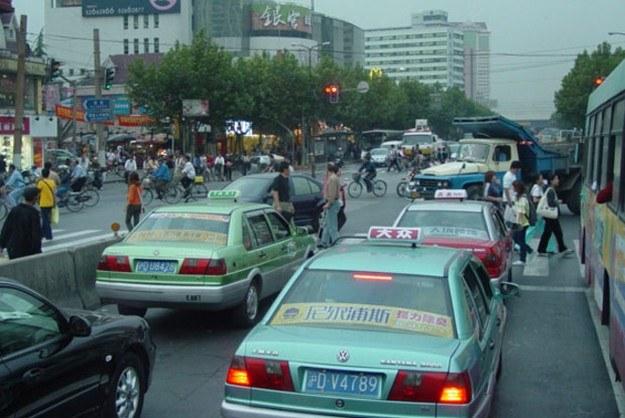 Jedna z chińskich ulic /