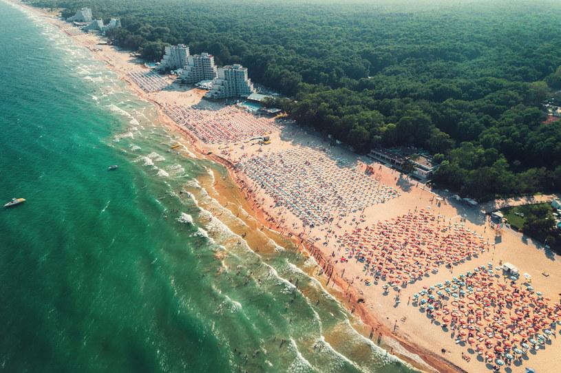 Jedna z czarnomorskich plaż w Bułgarii /123RF/PICSEL