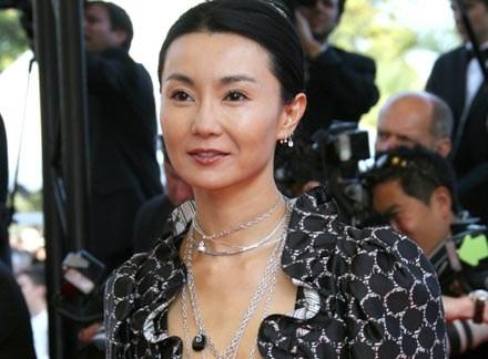 Jedną z fotografowanych gwiazd jest Maggie Cheung /AFP