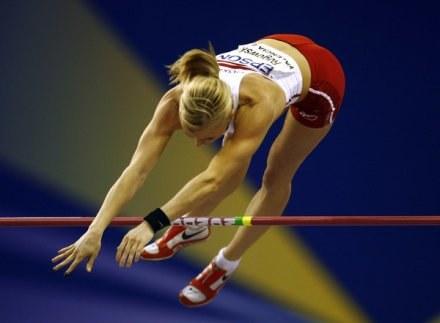 Jedna z gwiazd GP - Anna Rogowska /AFP