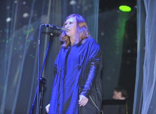 Jedną z gwiazd pierwszego dnia festiwalu w Jarocinie była Katarzyna Nosowska /AKPA