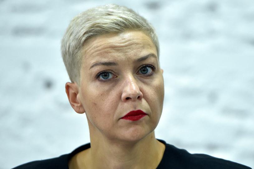 Jedna z liderek białoruskich protestów Maryja Kalesnikawa /AFP