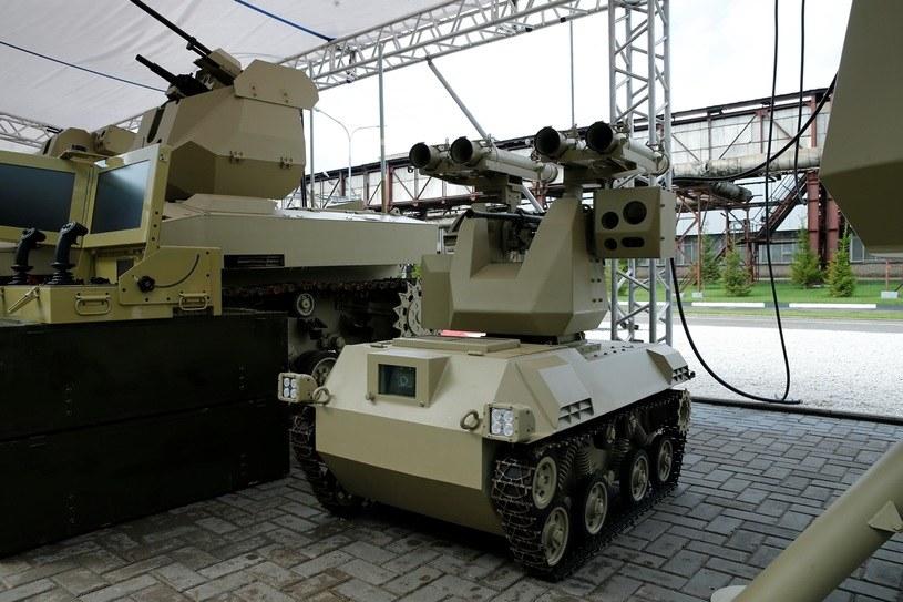 Jedna z maszyn bojowych, która będzie korzystała z modułów sztucznej inteligencji /materiały prasowe
