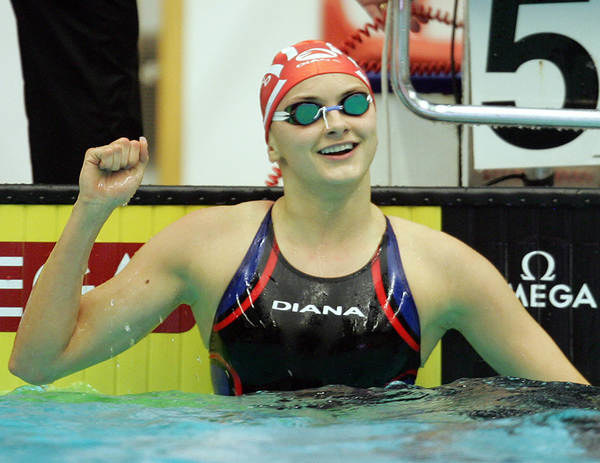 Jedna z najbardziej utytułowanych polskich pływaczek Aleksandra Urbańczyk /AFP