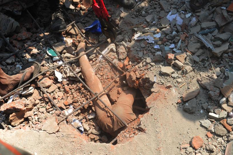 Jedna z ofiar katastrofy /AFP