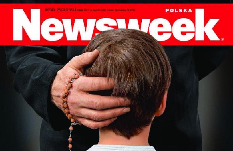 """Jedna z okładek """"Newsweeka"""", która wywołała burzę /"""