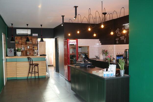Jedna z otwartych kawiarni w Zakopanem /Józef Polewka /RMF FM