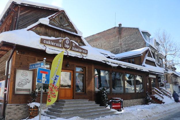 Jedna z otwartych restauracji w Zakopanem /Józef Polewka /RMF FM