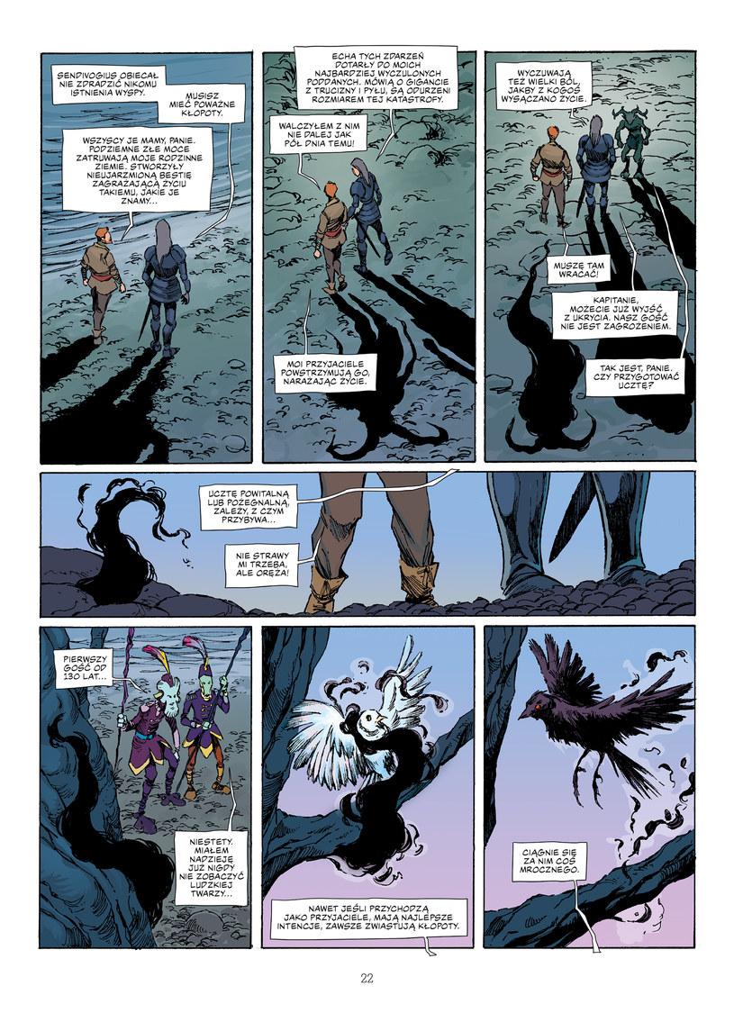 "Jedna z plansz komiksu ""Paneuropa versus Smog"" /materiały prasowe"