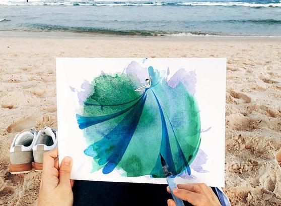 Jedna z prac ilustratora /Instagram