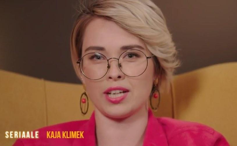 """Jedną z prowadzących program """"Seriaale"""" będzie Kaja Klimek /TVN"""