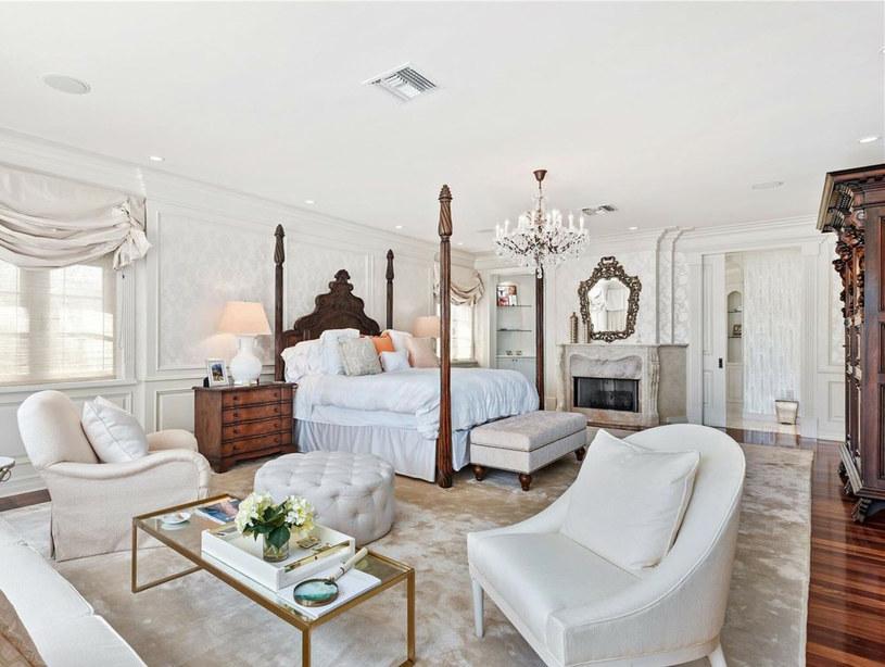 Jedna z sypialni w posiadłości Ivanki Trump /East News
