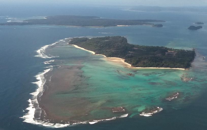 Jedna z wysp - Boat Island - na Andamanach /HARI KUMAR /AFP