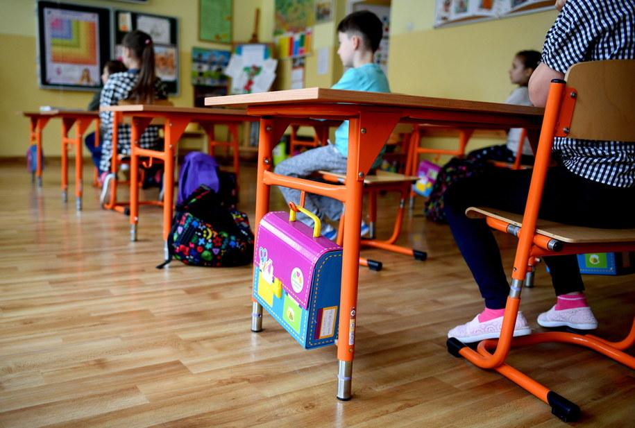 Jedna ze szkół podstawowych w Rzeszowie/ Zdjęcie ilustracyjne /Darek Delmanowicz /PAP