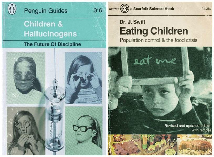 Jedne z dwóch fikcyjnych książek wydanych przez radę miasta Scarfolk /facebook.com/pages/Scarfolk-Council /materiały prasowe