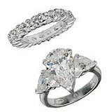 Jedne z wielu pierścionków wzorowanych na biżuterii Jessiki Simpson /