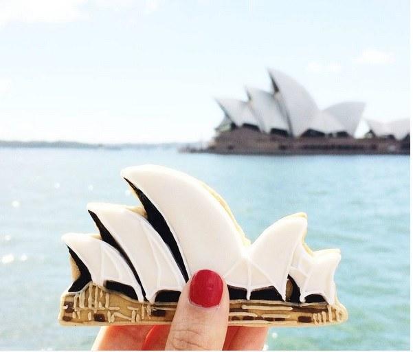 Jedno z ciastek upieczonych przez Vickie Liu /Instagram@vickiee_yoo /INTERIA.PL