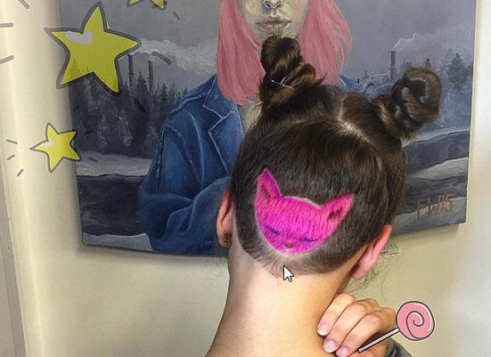 Jedno z dzieł rosyjskiej fryzjerki - artystki /Aliya Askarova/ printscreen z Instagrama /INTERIA.PL