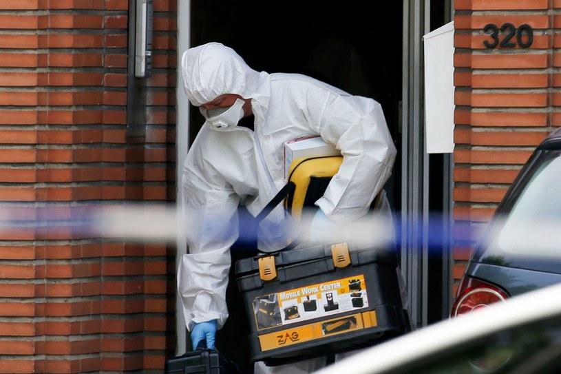 Jedno z licznych przeszukań belgijskich służb w Molenbeek, 21.06.2017 /AFP