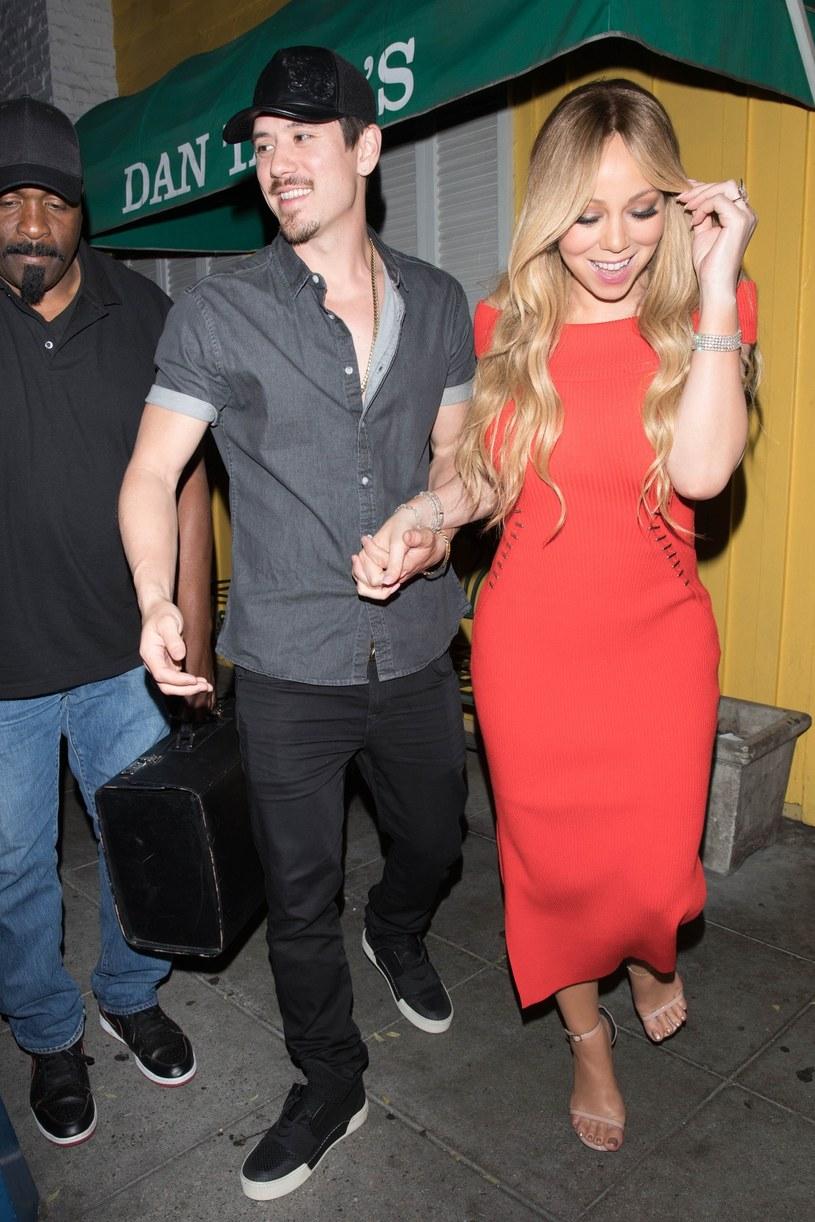 Jedno z najnowszych zdjęć szczupłej Mariah Carey /East News