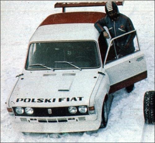 Jedno z niewielu kolorowych zdjęć Fiata 125 GTJ, jakie przetrwały do dziś /archiwum prywatne