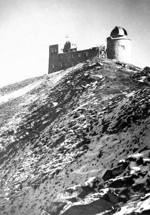 Jedno z ostatnich zdjęć obserwatorium przed zniszczeniem /Archiwum Tomasza Basarabowicza