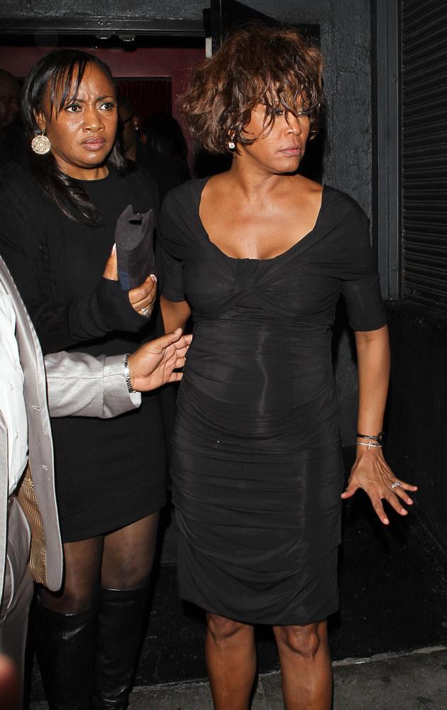 Jedno z ostatnich zdjęć Whitney Houston /Agencja FORUM