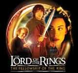 """Jedno z promocyjnych logo filmu """"Władca pieścieni: Drużyna pierścienia"""" /"""