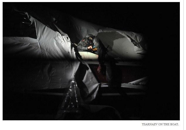 Jedno z ujawnionych zdjęć Dżochara Carnajewa /AFP