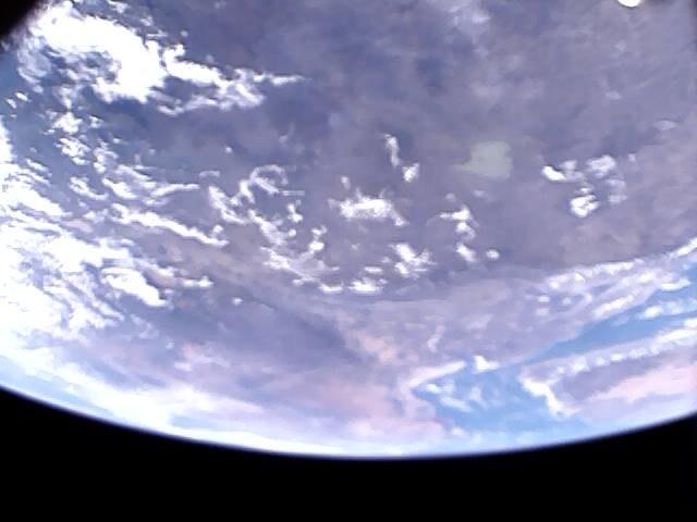 Jedno z wykonanych przez PW-Sat2 zdjęć Ziemi /PW-Sat2 Student Satellite Project /Materiały prasowe
