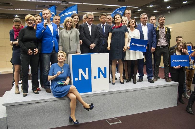 Jedno ze spotkań Nowoczesnej /Wojciech Stróżyk /Reporter